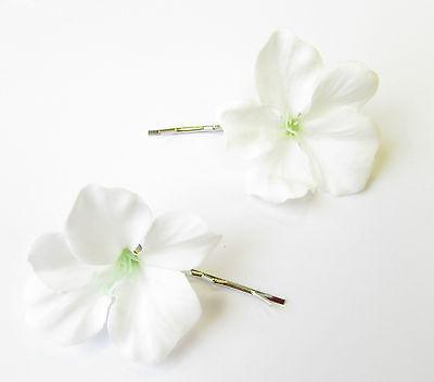 Hibiscus Flower Bobby Hair Pin Engagement & Wedding