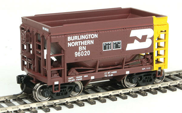 Spur H0 - Set Ore Car Burlington Northern 4 Wagen - 58052 NEU