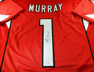 KLYER-MURRAY-AUTOGRAPHED-ARIZONA-CARDINALS-RED-CUSTOM-FOOTBALL-JERSEY-COA