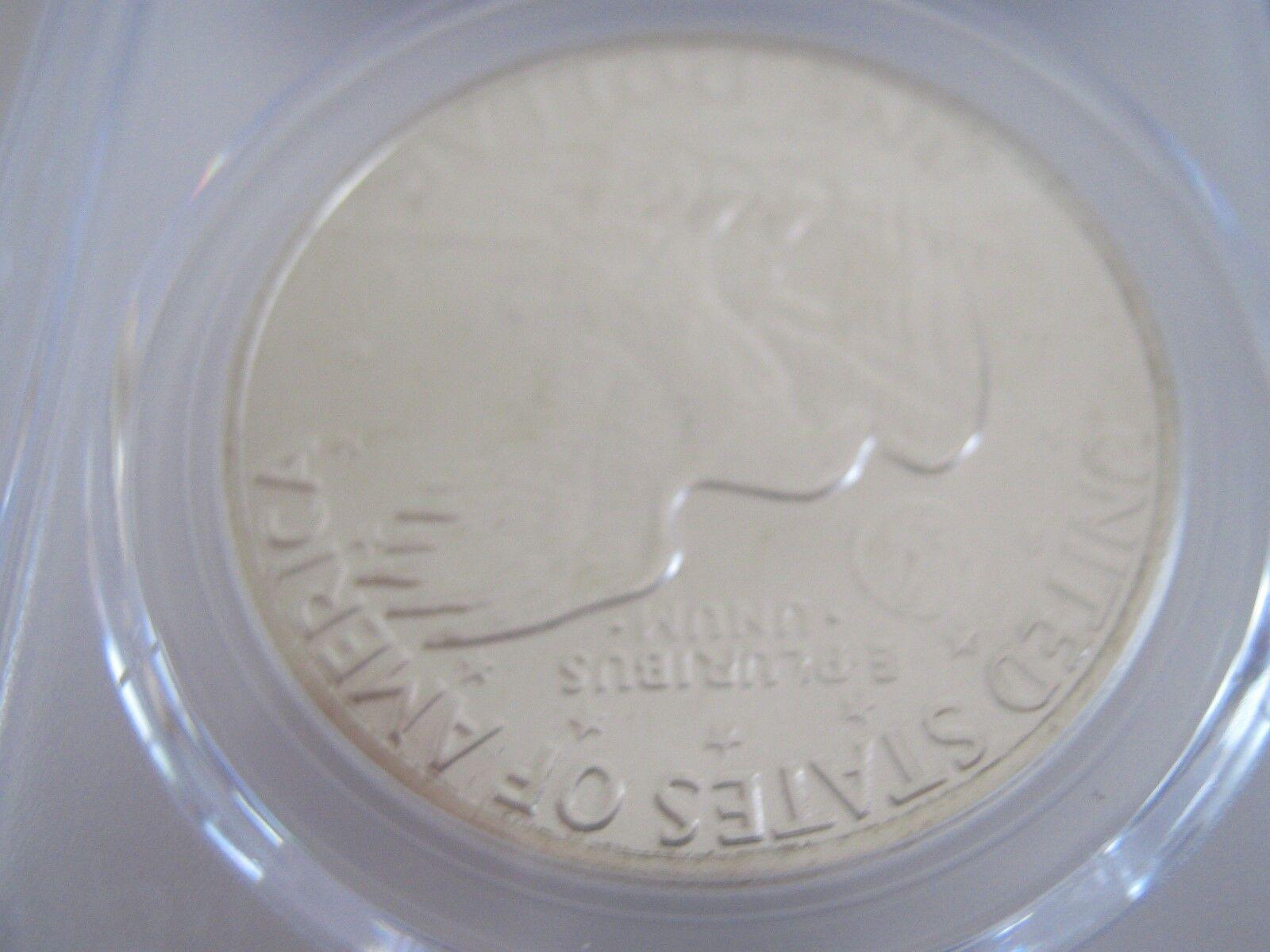 1971-S , Eisenhower Dollar , PCGS , MS 65 , Silver