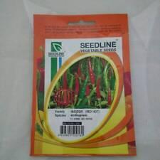 10x150 seeds  Thai Red  Hot Chili F1 Hybrid Pepper Vegetable Seeds