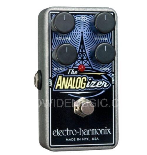 EHX Electro Harmonix ANALOGIZER Pre-amp, EQ, Tone Shaping Guitar Effects Pedal