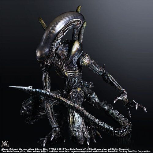 Square Enix Aliens  Colonial Colonial Colonial Marines Play Arts Kai Lurker Figure NEW from Japan c56a15