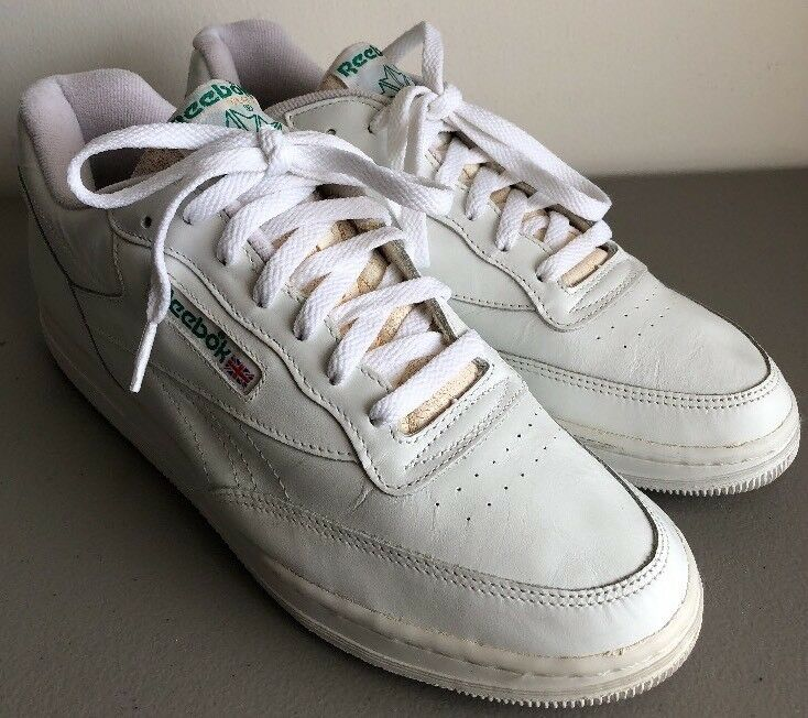 Vintage Reebok Classic blanc Tennis Chaussures hommes 's