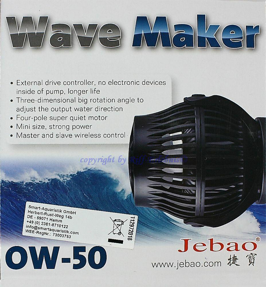 Wave Maker Ow-50 Jebao Stream Pump Flow Pump Incl. Controller 1700-676280oz