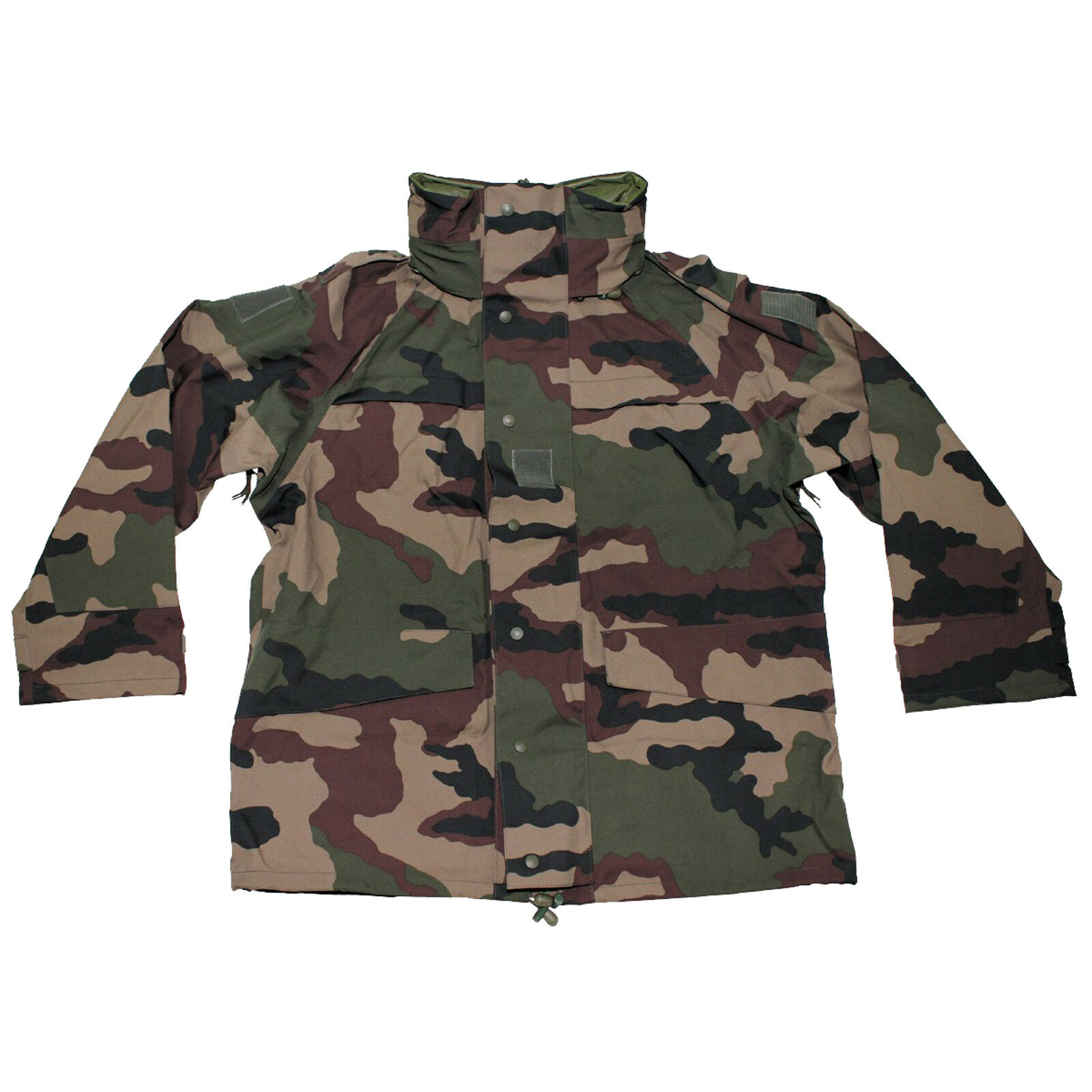 Genuino problema del ejército Francés CCE Camuflaje Gore-Tex Impermeable  Chaqueta De Lluvia  el mas reciente