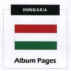 Hungary CD-Rom Album 1871-2019 Album Pages Classic Stamps Illustrated - Update