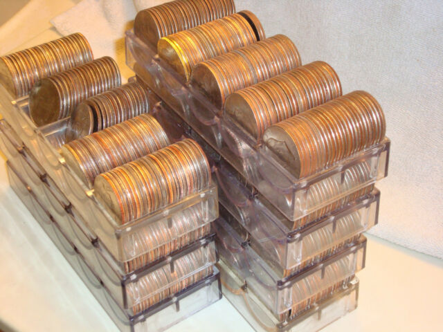 100 EISENHOWER SILVER DOLLARS,  IKE $$  FOR YOUR SLOT MACHINE IKES MIXED DATES.