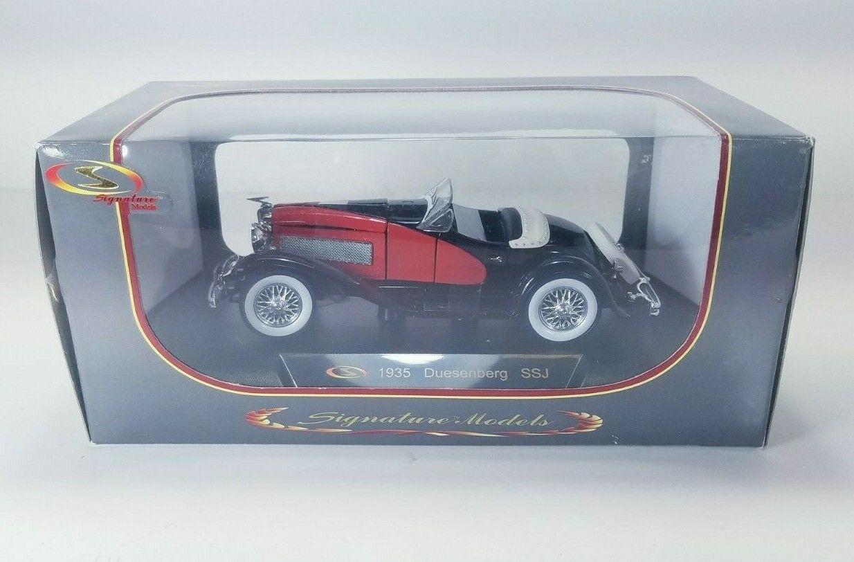 Venta al por mayor barato y de alta calidad. Signature Models 1935 Duesenberg SSJ 1 32 32 32 NIB (negro)(rojo)  32318  edición limitada en caliente