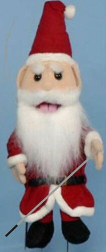 Sunny Puppets Santa Glove Puppet Bundle 14 inch with Arm Rod