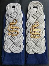 ✚7557✚ German army WW2 Wehrmacht Sanitäter MEDIC shoulder boards MAJOR