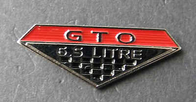 PONTIAC GTO MUSCLE 6.5 CAR THE JUDGE CAR AUTO LAPEL PIN BADGE 7//8 INCH