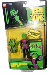 Teen-Titans-Bandai-Cheetah-Shifting-Beast-Boy-Action-figure-5-034-shelf-wear