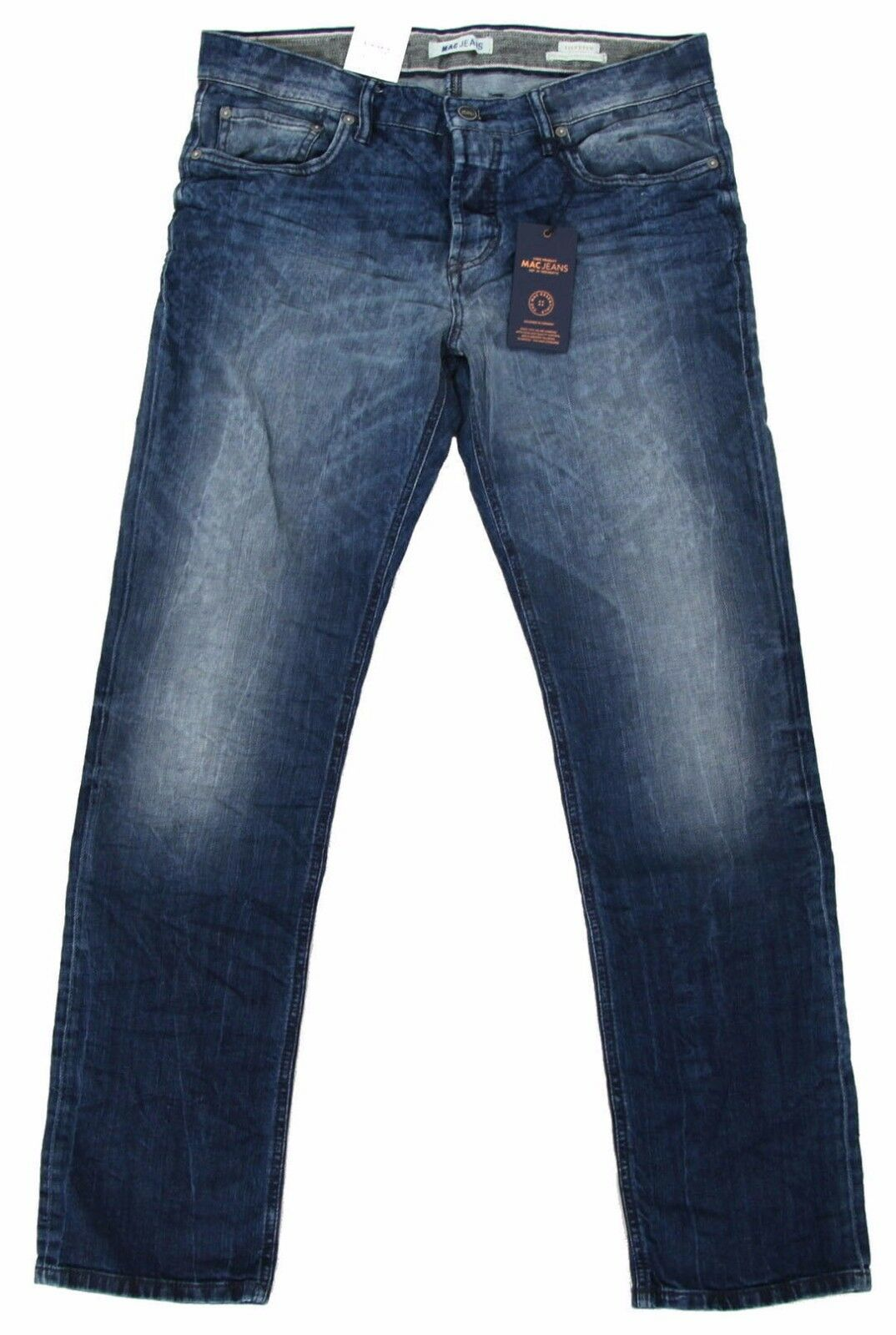 Mac Jeans Selected Arne Jeans Uomo Pantaloni Lang Uomo Uomo Uomo denim pants w33 l32 Stretch 9e54ed