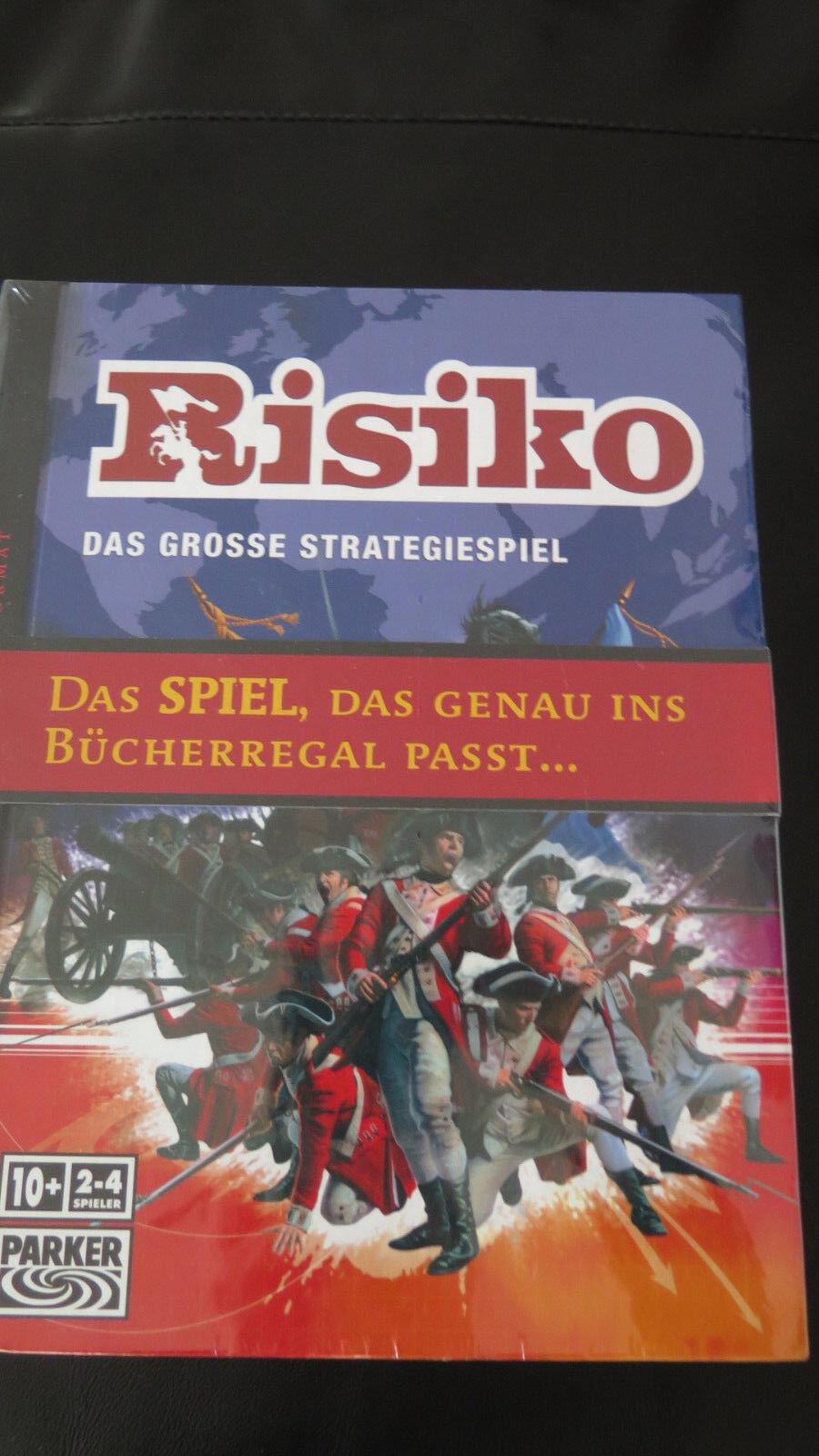 Parker - RISIKO im Buchformat – Neu & in Folie