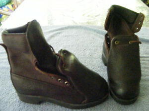 LEHIGH-work-boots-size-5-5-Steel-Toe-Gore-Tex-Cushion-Insoles-Carbo-Tec-soles