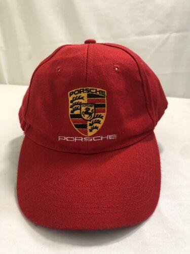 RED  Porsche Baseball Cap - Porsche Cars North Ame