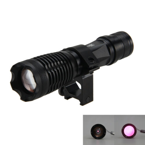 850//940nm Zoomable Focus Infrared Flashlight Hunting Torch Night Vision IR lamp