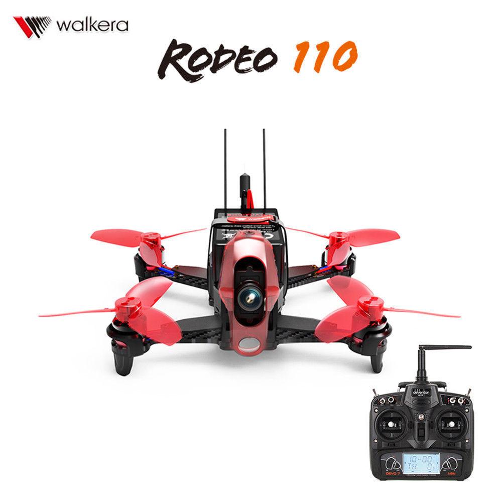 Walkera Rodeo 110 5.8GHz Quadricottero Radiocomandato FPV Racing Drone 600TVL HD