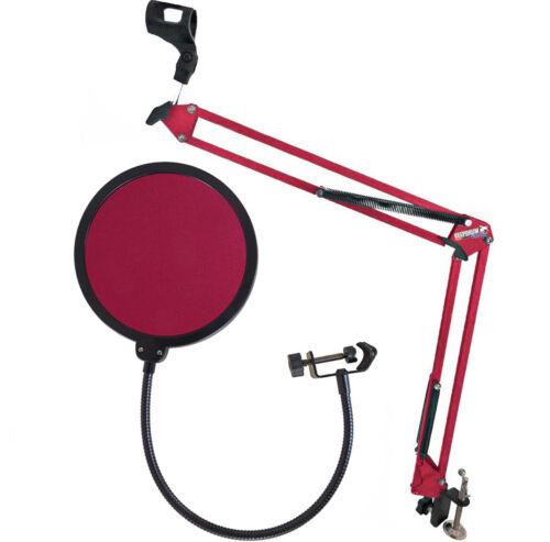 keepdrum NB35 RD Rot Gelenkarm Popschutz Rot