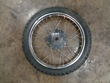 1982 82 HONDA TRAIL CT110 CT 110 MOTORCYCLE BODY FRONT WHEEL TIRE 2.75-17