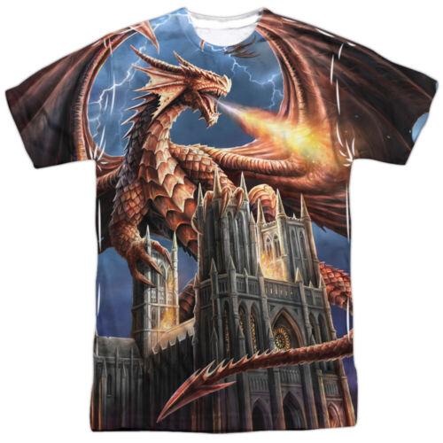 "Anne Stokes /""Dragon/'s Fury/"" Dye Sublimation T-Shirt"