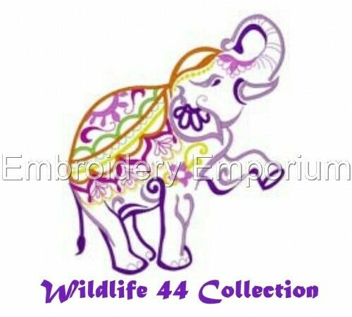 WILDLIFE 44 COLLECTION MACHINE EMBROIDERY DESIGNS ON CD OR USB