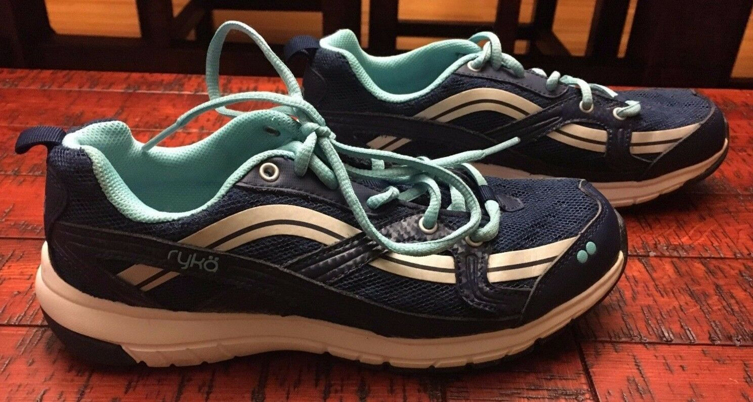 Womens Ryka Stance SMT dark bluee Training shoe size 6.5 M Excellent Condition