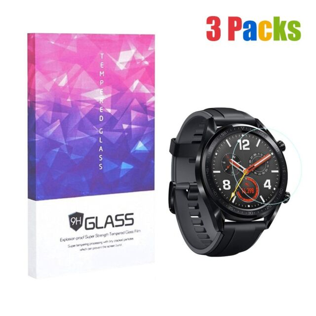 8a7265e90 3pcs Tempered Glass Smartwatch Screen Protector 9H Hardness for HuaWei  Watch GT