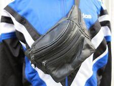Gürteltasche Bauchtasche Tasche Leder Patchwork 90er TRUEVINTAGE bum bag leather