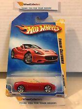 Ferrari California #38 * RED * 2009 Hot Wheels * M14