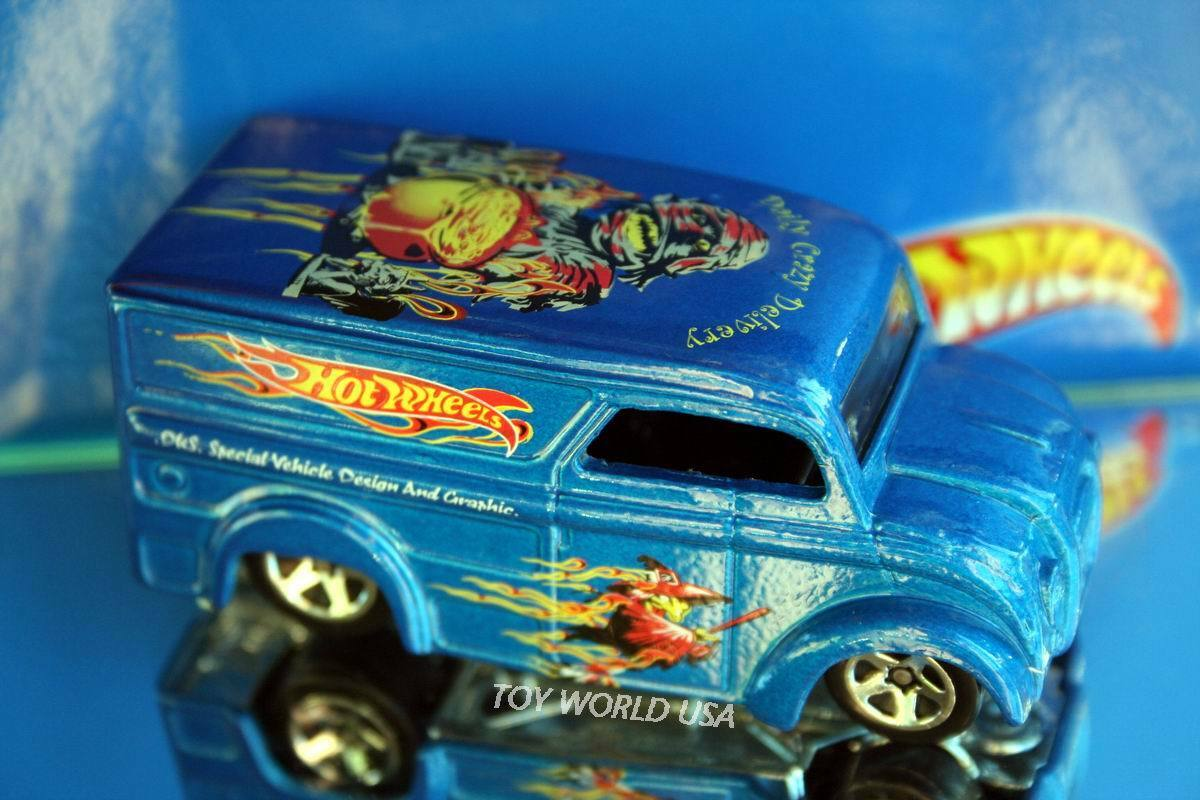 2003 Hot Wheels Dairy Delivery  Daily Crazy Delivery  Witch Limited Edition