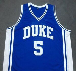 JEFF CAPEL III DUKE Blue Devils Blue Basketball Jersey Gift Any Size ... f3022c623