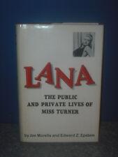 "Joe Morella Signed ""Lana"" book"