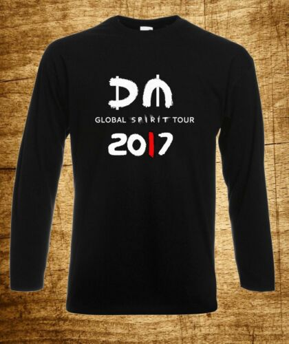 DEPECHE MODE MEN T-SHIRT GLOBAL SPIRIT TOUR 3 MUSIC SHORT SLEEVES