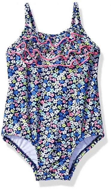 837f6f5961 Carters Baby Girls Ditsy Floral One Piece Swimsuit Multi 18 Months ...