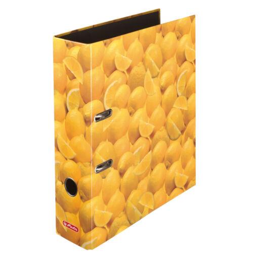 Herlitz Motivordner maX.file A4 8cm Zitronen