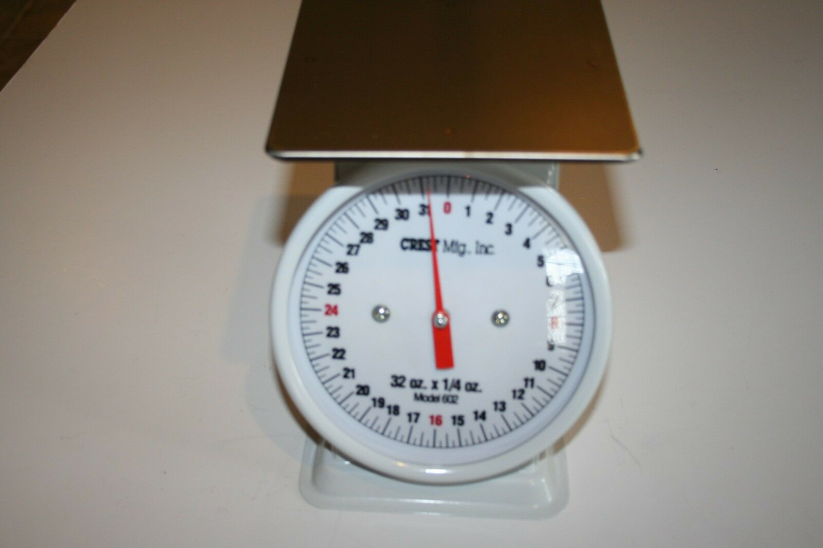 Crestware Heavy Duty Scale 8-Inch Dial Face 2-Pound by .125-Ounce Scale
