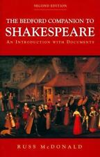 The Bedford Companion to Shakespeare: An Introduction with Documents by McDonal