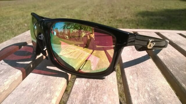 d64df805386 Maxx HD Sunglasses Mirrored Black Driving Gold Vision 8 Shatterproof ...