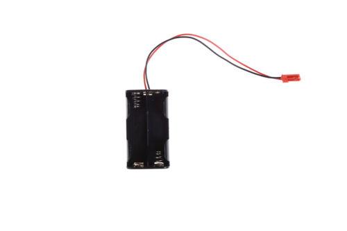 Empfänger-Batterie-Kasten-Kasten 4x AA-Verbindungs-Batterie-Einsatz RC-Modell CN