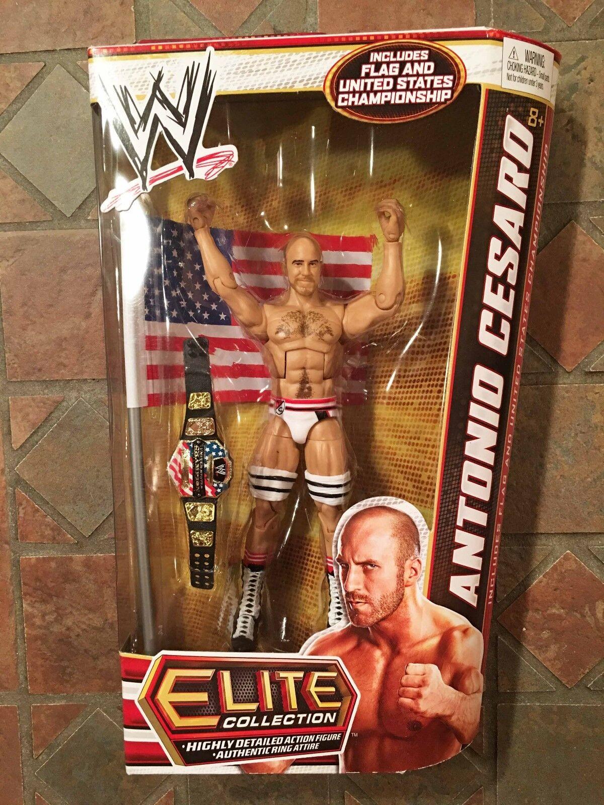 Mattel WWE ANTONIO CESARO Elite Figure Series 23 United States Flag US Title