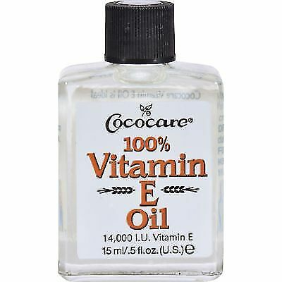 Cococare 100% Vitamin E Oil, 0.50 oz (Pack of 2) Lab Series Power Brightening Serum +DR4 1.7oz
