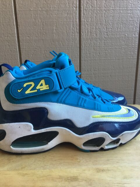 low priced e4f82 b25d2 Nike Air Griffey Max 1 Pure Platinum Midnight Navy 354912-008 Size 10  PreOwner