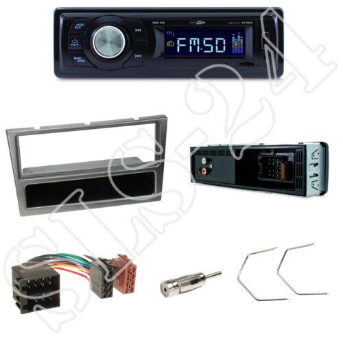 Opel Vivaro combo diafragma Alu Caliber rmd021 radio del coche set adaptador ISO