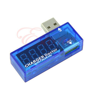 Battery Capacity Current Voltage USB Voltage UK Detector Charger Tester time