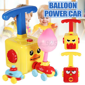 Inertia-Balloon-Launcher-amp-Powered-Car-Toys-Set-Toys-Gift-For-Kids-Experiment-AU