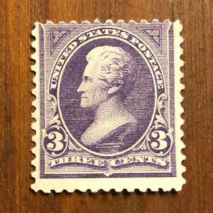 US-Stamps-253-OG-H-Fresh-Scott-Value-125