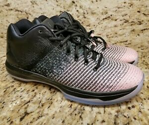 8fd0019c9407a3 NIKE AIR JORDAN XXXI 31 LOW BLACK DARK GREY SHEEN OREO 897564 001 SZ ...