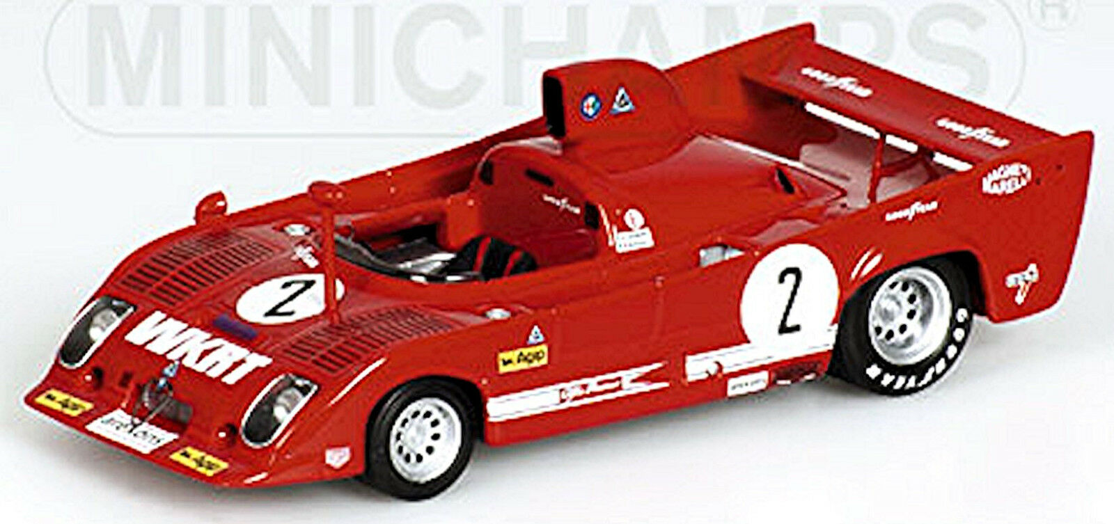 Alfa Romeo 33  TT12 1000 km Monza 1975 Gangant  2 Merzario Laffite 1 43  économiser jusqu'à 70% de réduction